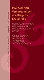 Psychosoziale Versorgung bei der Diagnose Brustkrebs in Bielefeld