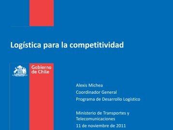 Presentación Programa de Desarrollo Logístico del Ministerio de ...