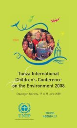 Tunza International Children's Conference on the Environment 2008