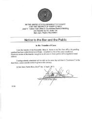 ASSIGNED TO HON. BRIAN K. - District of Puerto Rico