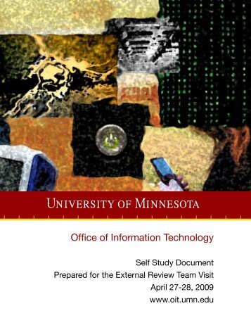 OIT Self Study - OIT - University of Minnesota