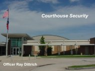 Courthouse Security.pdf - Texas Municipal Courts Education Center