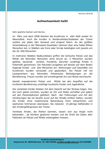 Aufmerksamkeit heilt! - Pen-Kurd