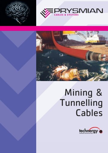 Leaflet Mining & Tunnelling - Prysmian Group