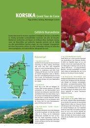 KORSIKAGrand Tour de Corse Geführte Busrundreise - Rhomberg ...