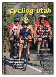August 2008 Issue - Cycling Utah