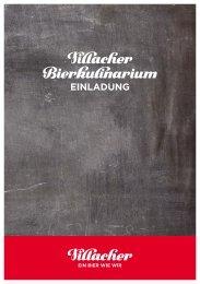 Bierkulinarium download - Villacher Bier