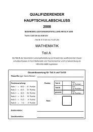 QUALIFIZIERENDER HAUPTSCHULABSCHLUSS 2008 ...