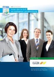 Immer alles im Griff mit intelligenter Lohnabrechnung - GDI Software