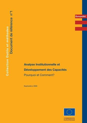 Document de référence n°1 - Capacity4Dev - Europa