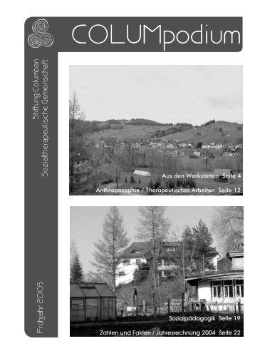 COLUMpodium 01-2005.pdf - Stiftung Columban