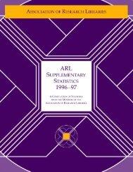 ARL Supplementary Statistics 1996-97