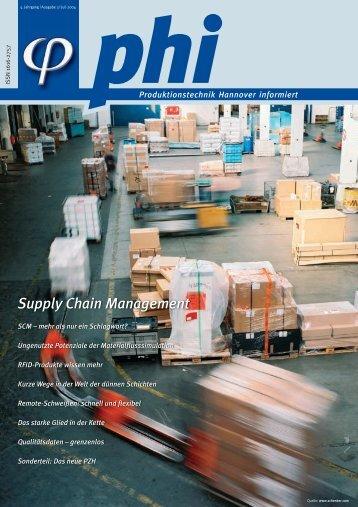 Supply Chain Management - Produktionstechnik Hannover informiert