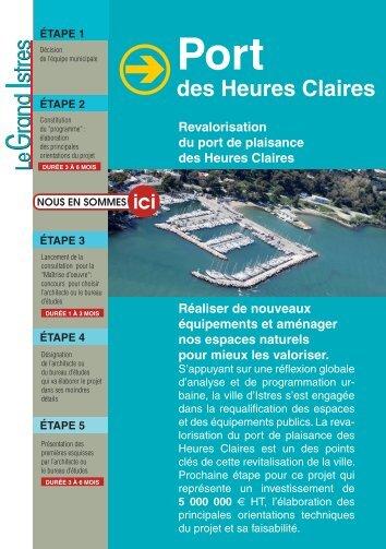 port des Heures Claires - Istres
