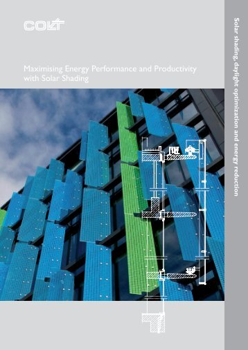 Maximising Energy Performance and Productivity ... - Colt International