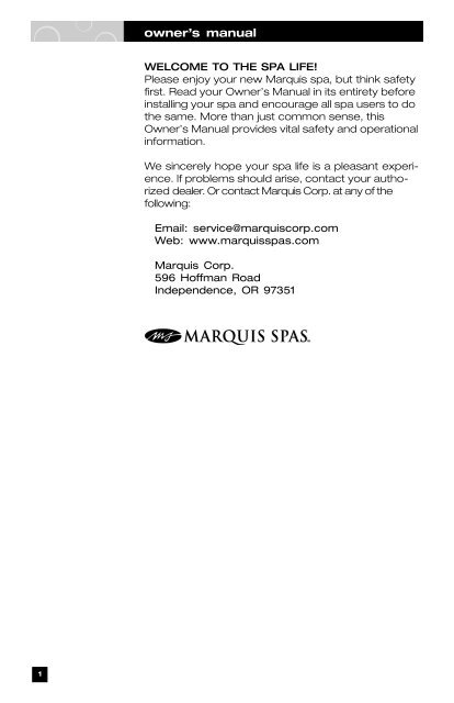 everyday, hideaway and limited series - marquis spas