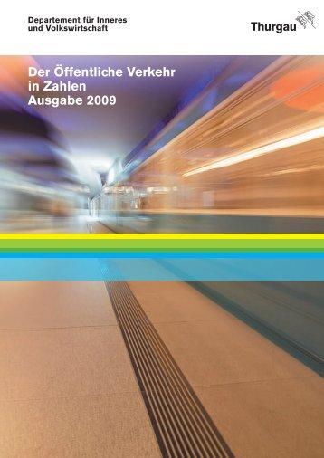 Der Öffentliche Verkehr in Zahlen Ausgabe 2009 - Öffentlicher ...