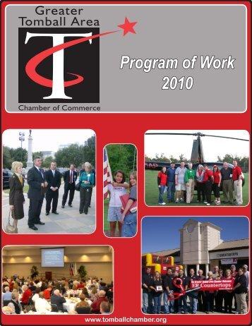 Program of Work 2010 - Lone Star College System