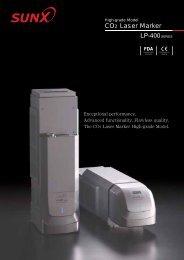 LP-400SERIES CO2 Laser Marker - Barcode Printers | Label ...