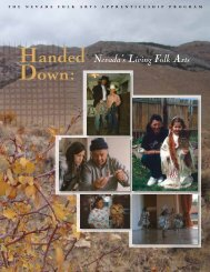 Handed Down - Nevada Arts Council