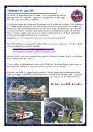 Sommertreff lørdag 18. juni 2011 - vmbk.no