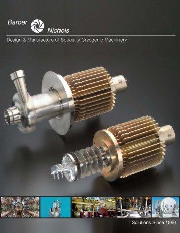 Cryogenic Pumps - Barber-Nichols Inc.