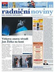 Radniční noviny - listopad 2011 - Praha 3