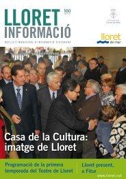 Casa de la Cultura: imatge de Lloret - Ajuntament de Lloret de Mar