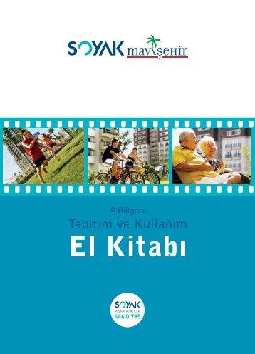 Soyak Mavişehir B Bölgesi Kullanım Kılavuzu