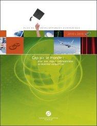 Plan de développement économique 2010-2015 - Communauté ...