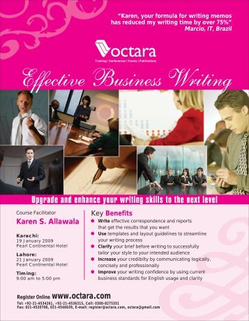 Effective Business Writing - Octara.com
