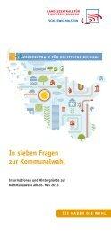 Kommunalwahl-Flyer - Landeszentrale für politische Bildung ...