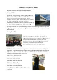 Comenius-Projekt Eco-Maths