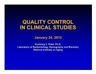 Quality Control in Clinical Trials