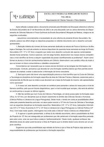 Escola Sec Morgado Mateus Vila Real.fm - Nautilus
