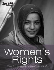 Women's Rights - Concern Worldwide