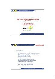 Datenschutz - Homepage Martin Rost
