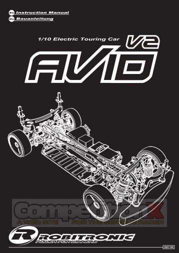 Robitronic Avid V2 Manual  - CompetitionX.com