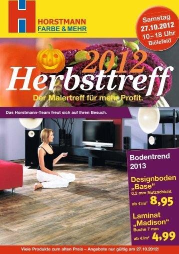 Der Malertreff für mehr Profit. - Horstmann Profi-Website