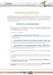 PREMIOS INTRAS 2013 - Fundación Andaluza para la Integración ...