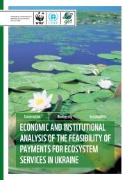 Feasibility of PES in Ukraine - Convention on Biological Diversity