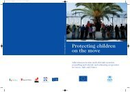Protecting children on the move - Unhcr