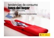 Tendencias de consumo fuera del hogar - Eurocarne