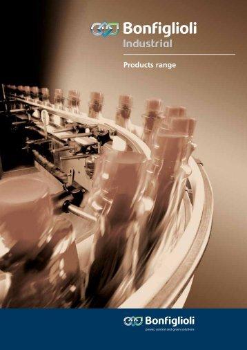 Brochure Industrial ENG Download pdf - Bonfiglioli