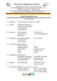Durchführungsbestimmungen 2013 Senioren - KSV Freiburg eV