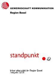 Der gestiefelte Kater - syndicom Region Basel