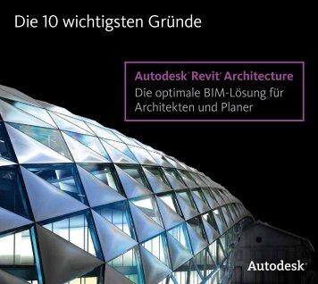 Autodesk Revit Architecture - cadinsider.ch - CAD-Shop