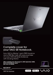 Complete cover for  your VAIO SR Notebook. - Dabs