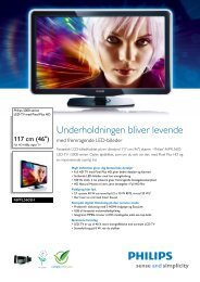 46PFL5605H/12 Philips LED-TV med Pixel Plus HD