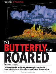 The Butterfly That Roared - Department of Atmospheric Sciences